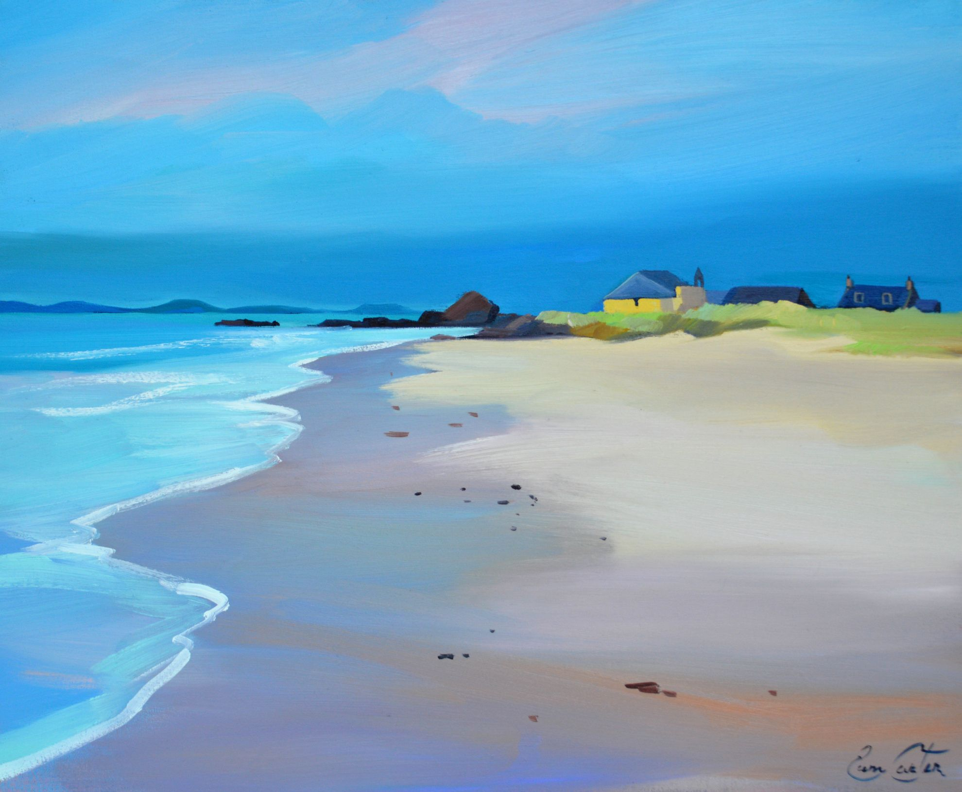 Coastal Parish Kintyre by Pam Carter