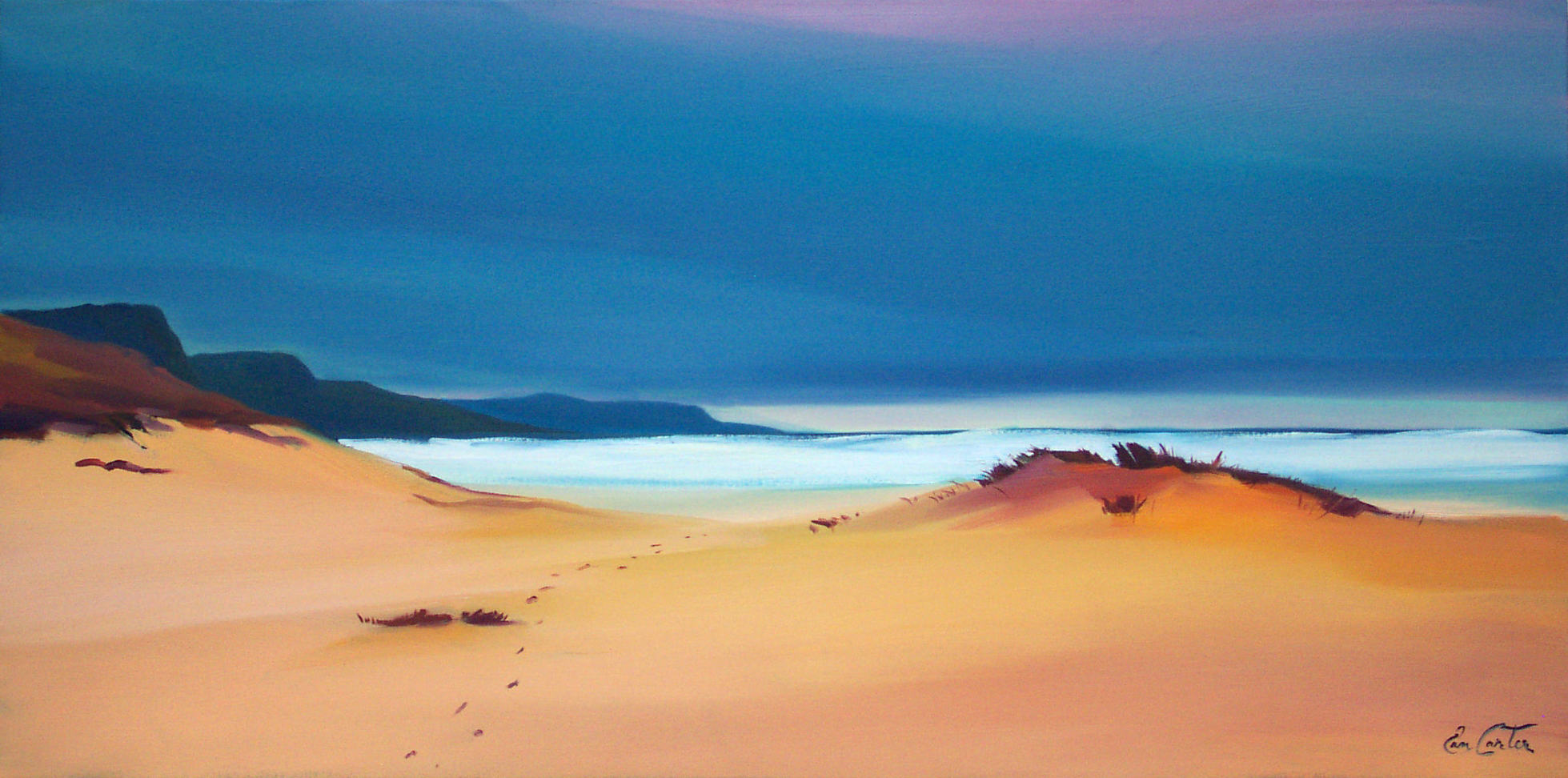 Footsteps Through The Dunes 20x40