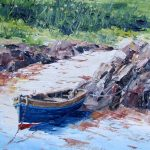 Graham's Wee Dinghy, Ardminish by Erni Upton