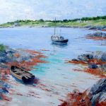 Graham's Boats, Ardminish, Gigha by Erni Upton