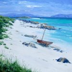 Ashore, Monks' Strand, Iona