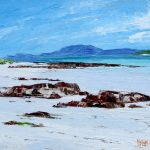 A Painting of a Beach, Traigh Mhor, Eoligarry, on the Island of Barra