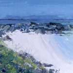 A Painting of the Island of Eigg From Morar