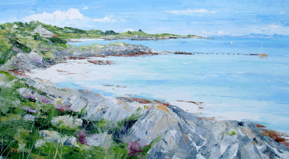 A Painting of South Ardminish Bay, Gigha