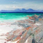 A Painting of the Island of Jura from the Beach at Tayinloan